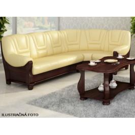 Pyka Rohová kožená sedacia súprava ROMA / 2,40x2,80 m Prevedenie: pravé