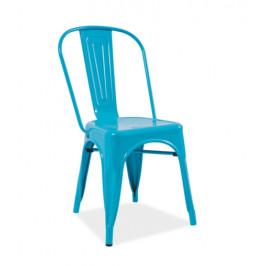 Signal Jedálenská stolička LOFT Farba: Modrá