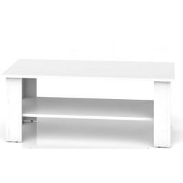BRW Konferenčný stolík Nepo LAW/115 Farba: Biela