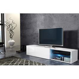 WIP Tv stolík Best Farba: Biela / biely lesk