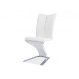 Signal Jedálenská stolička H-040 Farba: Biela