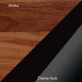 WIP Komoda Verin 11 Farba: Slivka / čierny lesk