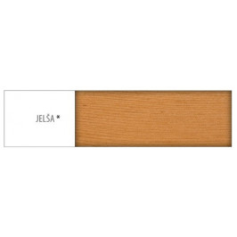 Drewmax Jednolôžková posteľ - masív LK129 | 90 cm borovica Morenie: Jelša