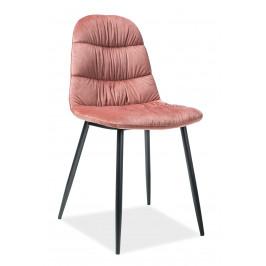 Signal Jedálenská stolička Vedis Farba: Ružová