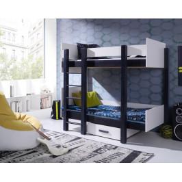 ArtBed Detská poschodová posteľ Nestor Prevedenie: Borovica prírodná