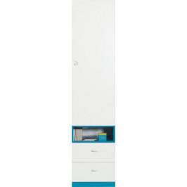 MBR, SHINE SH3 šatníková skriňa 45x195x40 cm