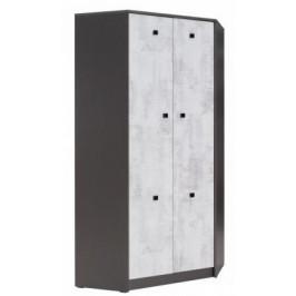 JRK, TEMPO 4 Šatní skříň