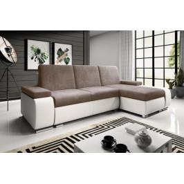 MEROB, GOGOL rozkladacia rohová sedačka s úložným priestorom, 255x144 cm