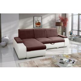 MEROB, LONGA rozkladacia rohová sedačka s úložným priestorom, 255x168 cm