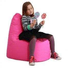 Sedací vak RATE Kids exteriér-ružová