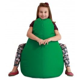 Sedací vak RATE Kids exteriér-zelená