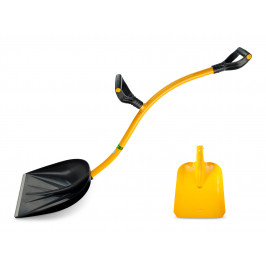 Tornadica ergonomická lopata 2v1 230x270 mm+400x415 mm