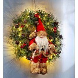 LED veniec Vianočný muž