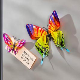 3D Dekoračné sada motýľov Colori, 24 ks