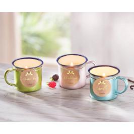 Sviečky v plecháčikoch Jar, 3 kusy