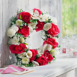 Kvetinový veniec Jar