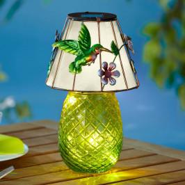 Solárna stolná lampa Kolibrík