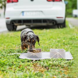 Skladacie misky pre psov