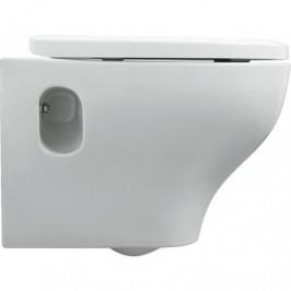 HOPA - Závěsné WC PRATICA - WC sedátko - Bez sedátka (KEAZPRA100SOSP)