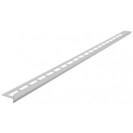 SAPHO - Spádová lišta, pravá, výška 12 mm, délka 1000 mm, nerez (SPD12-P)