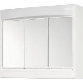 AQUALINE - SAPHIR galérka 60x51x18cm, zářivka T8,1x15W, G13, biela plast 591322