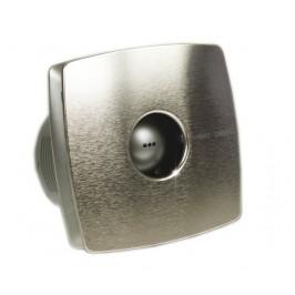 CATA - X-MART 10H koupelnový ventilátor axiální s automatem, 15W, potrubí 100mm, nerez (01044000)