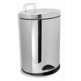 NOVASERVIS - Odpadkový koš kulatý 5 l chrom (6160,0)