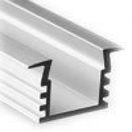 Sapho Led - LED zápustný profil 22x12mm, eloxovaný hliník, 2m (KL3776-2)