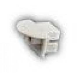 Sapho Led - Plastová záslepka profilu KL3776 s otvorem pro kabel (KL1447)