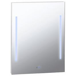 BEMETA Zrcadlo s LED osvětlením a hodinami 127201669