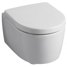 Geberit Icon Závěsné WC s hlubokým splachováním uzavřený tvar 53cm KeraTect / Bílá 204000600 204000600