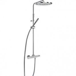 TRES - Souprava termostatické sprchové baterie Pevná sprcha O300mm. s kloubem. Materiál mosaz. Ruční sprcha, proti usaz.  (26121001)