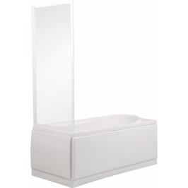 TEIKO vanová stěna pevná BSVP 80 CHINCHILLA WATER OFF BÍLÝ 80x135 (V311080N56T80001)