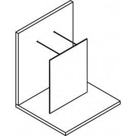 POLYSAN - MODULAR SHOWER jednodílná zástěna WALK-IN, 1400 mm (MS4-140)