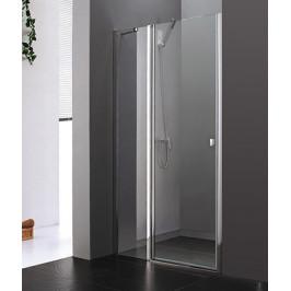 Aquatek - Glass B5 115 CHROM Sprchové dveře do niky 112 - 116 cm (GlassB5115)
