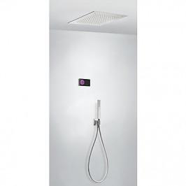TRES - Termostatický podomítkový elektronický sprchový set SHOWERTECHNOLOGY Včetně elektronického ovládání (černá barva).  (09288561)