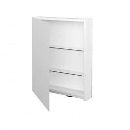 Dreja - Jednodvéřová galerka PREMIUM GAE 60 - N01 Bílá lesk / Pravé (49181P)