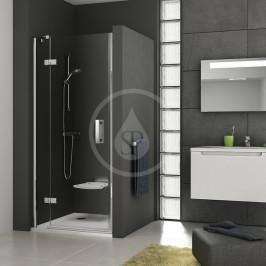 RAVAK - SmartLine Sprchové dveře dvoudílné SMSD2-100 A-R, 989-1006 mm, pravé, chrom/čiré sklo (0SPAAA00Z1)