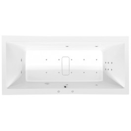 POLYSAN - MARLENE HYDRO-AIR hydromasážní vana, 180x80x48cm, bílá (72034HA)