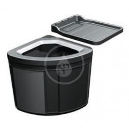 FRANKE - Sortery Vestavný odpadkový koš Pivot, černá (121.0307.563)