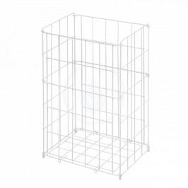 SANELA - Drátěné koše Drôtený kôš, rozmery 540x340x260 mm, biely SLZN 42