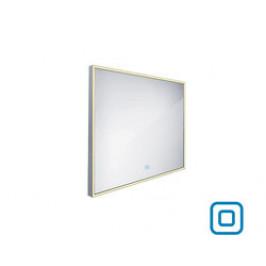 NIMCO Led zrcadlo zrcadlo LED 800x700  rám hliníkový ZP 13003V (ZP 13003V)