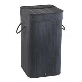 Gedy - TATAMI kôš na bielizeň 35,5x63x35,5cm, čierna TA3814