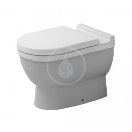 DURAVIT - Starck 3 Stojící WC, zadní odpad, s HygieneGlaze, alpská bílá (0124092000)