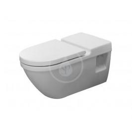 DURAVIT - Starck 3 Závěsné WC, bezbariérové, s HygieneGlaze, alpská bílá (2203092000)