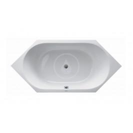 DURAVIT - D-Code Vana 1900x900 mm, alpská bílá (700138000000000)