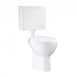 GROHE - Bau Ceramic WC kombi súprava s nádržkou a sedadlom, rimless, alpská biela 39560000