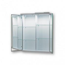 HOPA - Vrchní zrcadlová skříňka NICE s LED osvětlením - Rozměry skříněk - 50×64× 15 cm OLNNIC50