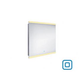 NIMCO Led zrcadlo zrcadlo LED 800x700  rám hliníkový ZP 12003V (ZP 12003V)