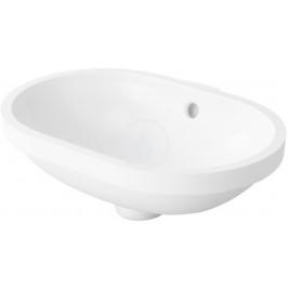 DURAVIT - Bathroom_Foster Umyvadlo zápustné 430x280 mm, alpská bílá (0336430000)